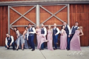 Carleton Farms wedding party