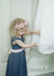 Sweet Flower Girl- Carleton Farms Wedding