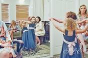 Fun in the bridal suite- at Carleton Farms wedding