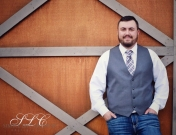 Rustic Groom - at Carleton Farms wedding