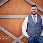 Rustic Groom - at Carleton Farms wedding