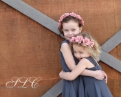 Flower Girl Love - at Carleton Farms wedding