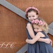 Flower Girl Love - at Carleton Farms wedding