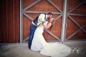 The Dip Kiss -Carleton Farms Wedding